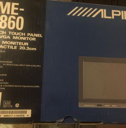 Монітор alpine tme-m 860 новий в коробці