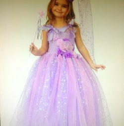 🌲 Γιορτινή φορεσιά της ροζ νεράιδας - η μάγισσα. Ra