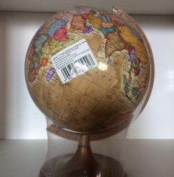 Globe Antique Desktop 160mm