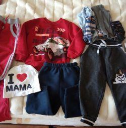 Ένα πακέτο ρούχων για ένα παιδί 1,5-2,5 ετών