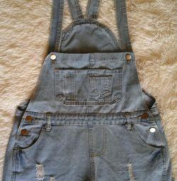 Overalls-shorts