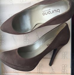 Туфли нубуковые Burana 36 р-р