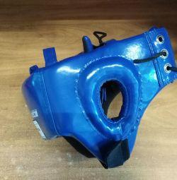 Шлем боксерский боевой синий гп5-2