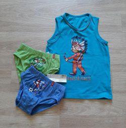 Κασκόλ και T-shirt