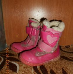 Natural winter boots 30 ~ 31 size.