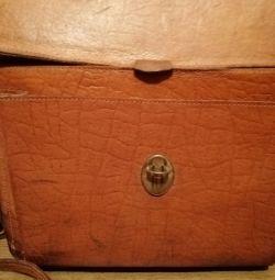 Deri gardırop bagajı, SSCB, 70'ler.