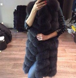 Fur coats and fur vests