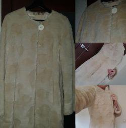 Blana de blana - Coat 👧 Un astfel de preț pe care nu îl veți găsi nicăieri!