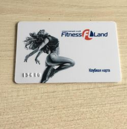 Fitness card