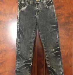 Джинсы, Gloria Jeans для девочки, размер 110