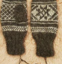 Γάντια. Μαλλί.