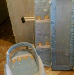 Sell baby cot and cradle