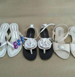 Sandale, flip flops