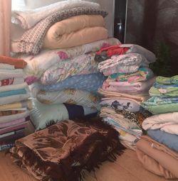 Κλινοσκεπάσματα, κουβέρτες, μαξιλάρια