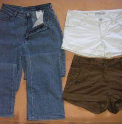 Шорты и джинсы МАС