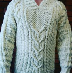 I am knitting to order on the photo male and female models