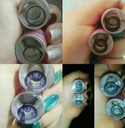 Color magnifying lenses