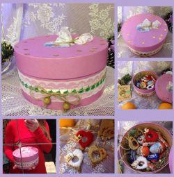 Cadou Palarie Cadou Jucărie cu ciocolată Kinder