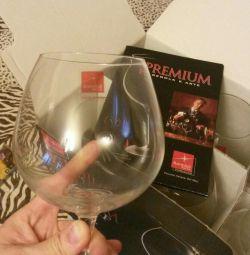 Γυαλιά, ποτήρια κρασιού