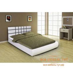 Κλασσικό κρεβάτι 1.6 με μηχανισμό ανύψωσης (λευκό)