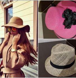 капелюхи нові