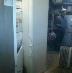 Indesit refrigerator 1.75m