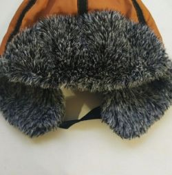 Winter hat on fur. For 3-5 years.