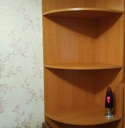 Corner with shelves