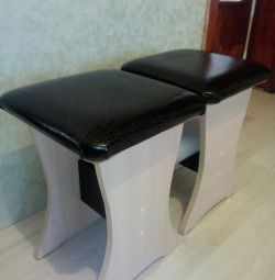 Two stools.