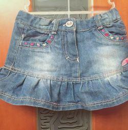 Спідниця джинсова Yo Baby зростання 80