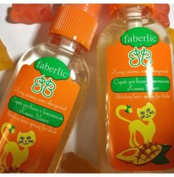 Spray for children with sparkles