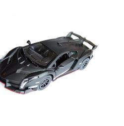 Makine Lamborghini Veneno mat (metal)