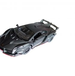 Машинка Lamborghini Veneno матовый (металл)