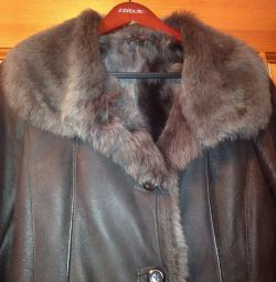 Sheepskin coat for wives. Bargain!