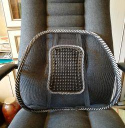 Bir sandalye için ortopedik kaplama