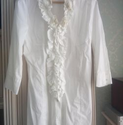 Белая блузка Dori, M