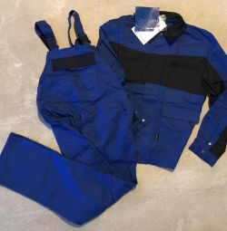 Suit worker male summer (New)