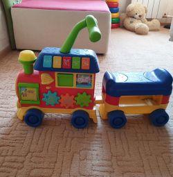 Paravoz μωρό αναπηρική καρέκλα πάει