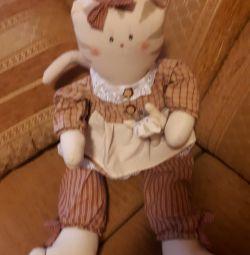 New soft cat doll