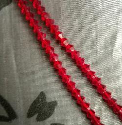 Κόκκινη διακόσμηση ροδιού
