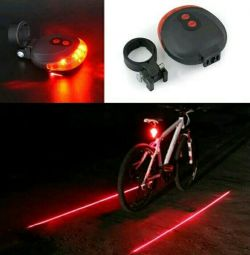 Οδήγησε οπίσθιο φως (δίοδοι +2 λέιζερ)