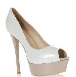 Beyaz lake ayakkabı El Monte 38