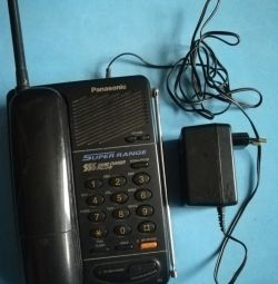 Cordless phone Panasonic KT-TC423RU-B