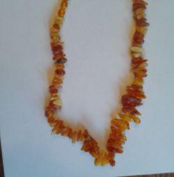 πορτοκαλί χάντρες της Βαλτικής