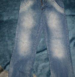 Jeans pentru băiat diferite 10-12 ani