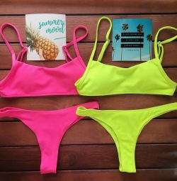 Juicy neon swimwear