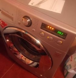 Washing machine LG 6kg.pryamoy drive