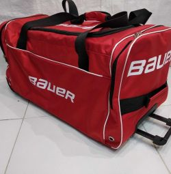 Hockey bag sports bag on wheels