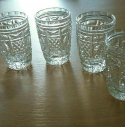 Crystal glasses. Price for one