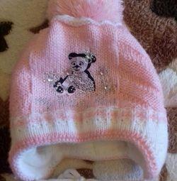 Зимова шапка дитяча